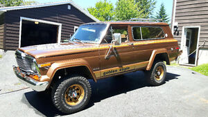 Jeep AMC Cherokee Wagoneer Chief fsj full size