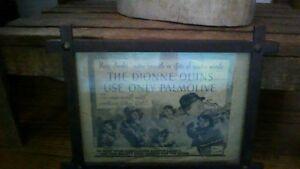 Dionne Quins origonal Polmolive advertisement<REDUCED>