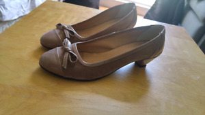 Brown shoes size 10