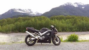 Honda CBR 929 RR noir mat