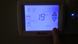 Furnace  Air Conditioning thermostat