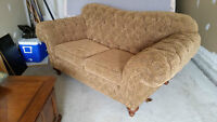 love sofa fabric 2 seat like new