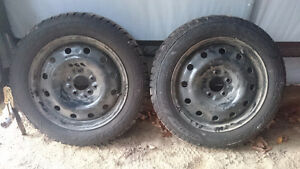 Winter tires and rims Kawartha Lakes Peterborough Area image 3