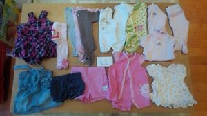 6-9 months girls clothing. $25 for 16 items