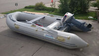 AquaMarine GYL 380 12.5' Inflatable Zodiac Boat