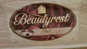 Queen Beautyrest Royale pillow top mattress and boxspring