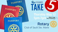 Take 5 Hosted by Rotary Club of Sault Ste. Marie