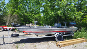 bass tracker with 50hp