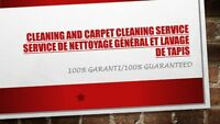 Carpet Cleaning and cleaning Service de nettoyage général
