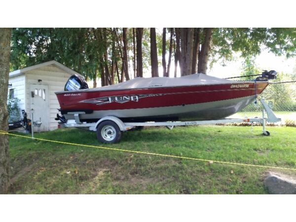 Used 2014 Lund Boat Co LUND 1650 REBEL XL