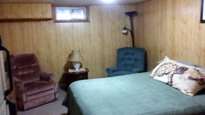 Self-Contained Furnished Basement Suite