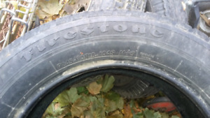 Tires and rims for sale. 245/60/18 & rims ect