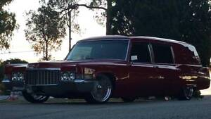 1970 Cadillac Fleetwood Hearse 10yr project completely rebuilt Carindale Brisbane South East Preview