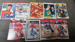 NHL 1990 Rookie cards(9)