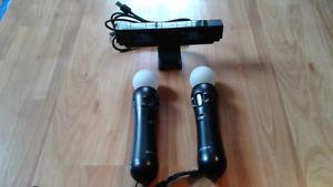2 x Ps move avec caméra pour PlayStation 4