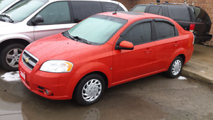 2009 chevrolet aveo safety and e-test included