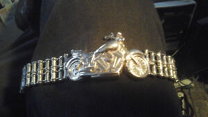 Motorcycle  Shaped Watch