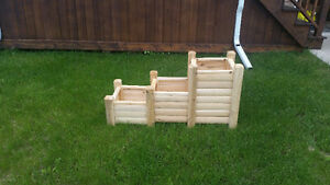 cedar planter box, 3 in one planter boxes,raised garden beds