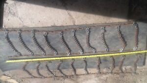 Tractor or Snow blower tire chains 95.00 O.B.O.