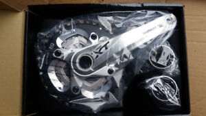 Brand New Shimano XT Crank  - 10 speed  - Never used, in box