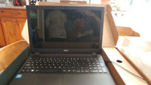 Acer Laptop ES15-531 new for sale, unused, open box
