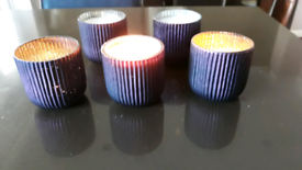 Home made soy wax candles