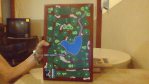 19th hole cribbage board