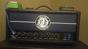 Jet City JCA22H and various pedals