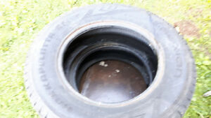 pair of 205/70r 15 winter tires, lots of thread,