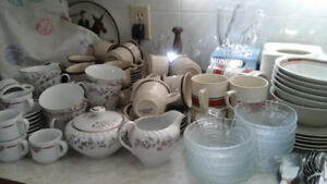 Several Kitchenware items prices from $1.00 to $7.00 max.