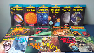 Science non-fiction young reader collection