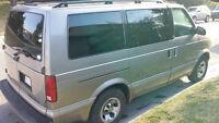 2001 Chevrolet Astro Minivan, Van
