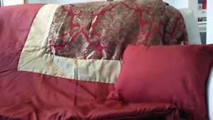 3 sets Queen size bed in a bag