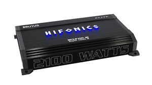 HIFONICS 2100W RMS AMPLIFIER - BRAND NEW - IN STOCK