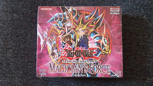 Yugioh - SEALED 1st edition Magician's Force booster box (24pks)