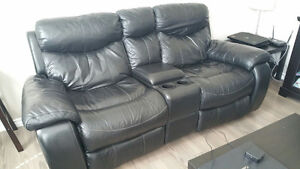 Reclining Leather couches Strathcona County Edmonton Area image 2
