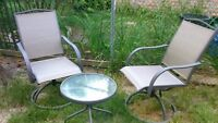 brand new bistro set for two people $80