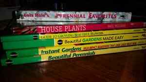 Gardening Books, new condition