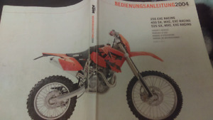 ktm 450 four stroke 6speed enduro