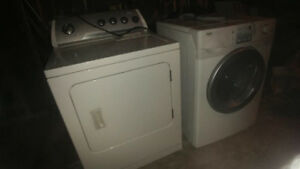 Inglis Washer & Whirlpool Dryer (As Is) for $60for the pair
