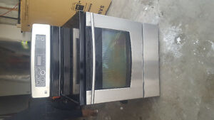 LG stainless oven