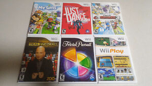 Nintendo Wii Game Collection