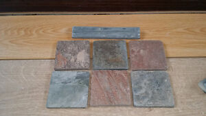 4 x 4 wall or floor tiles and Laminate flooring