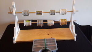 Spools of chain for jewelry making