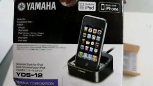 Yamaha YDS12 ipod dock for Yamaha receivers