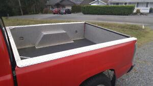Marine grade aluminum Diamond plate box liner GM/Chevy
