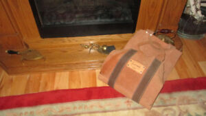 HEAVY DUTY SUEDE PROPOUCH LOG CARRIER
