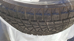 2007 08 09 Cadillac Escalade Winter tires and Rims 265 70 R17 North Shore Greater Vancouver Area image 1