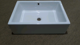 Brand new in box sit on basin