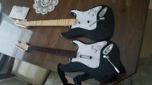 Guitar rockband ps3!! (Pas de fil) 20$/2